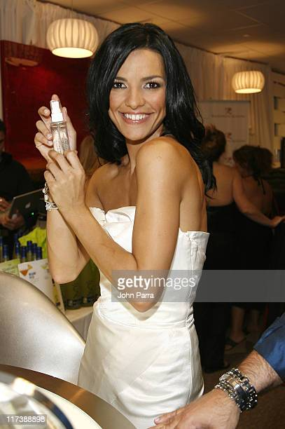 Candela Ferro during Billboard Latin Music Conference and Awards 2007 Backstage Creations Gift Suite Day 2 at Bank United in Coral Gables Florida...