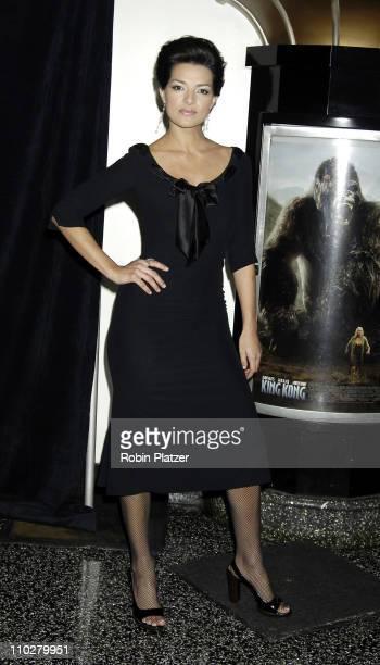 Candela Ferro during 'King Kong' New York City Premiere at Loews EWalk in New York City New York United States