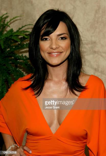 Candela Ferro during Miss Universe 2006 Breakfast with the 18 Hispanic Candidates at Wilshire Grand Hotel in Los Angeles California United States