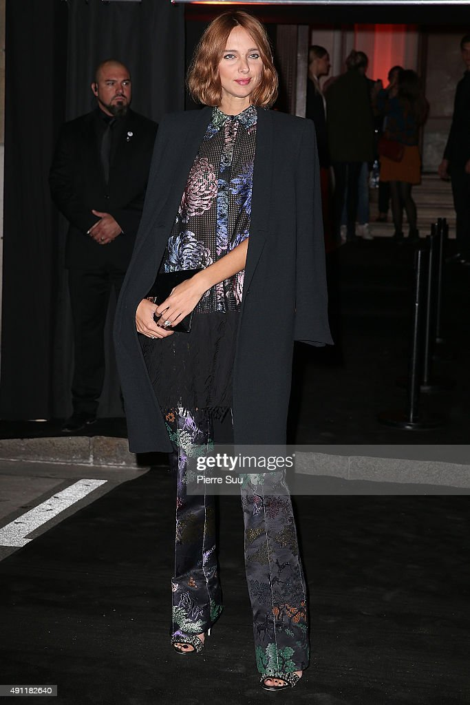 Vogue 95th Anniversary Party : Outside Photocall - Paris Fashion Week Womenswear Spring/Summer 2016