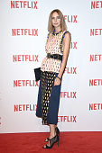 Candela Novembre attends a red carpet for the Netflix launch at Palazzo Del Ghiaccio on October 22 2015 in Milan Italy