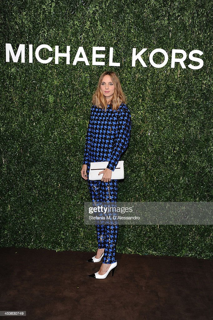 <a gi-track='captionPersonalityLinkClicked' href=/galleries/search?phrase=Candela+Novembre&family=editorial&specificpeople=8618931 ng-click='$event.stopPropagation()'>Candela Novembre</a> attends Michael Kors To Celebrate Milano on December 4, 2013 in Milan, Italy.