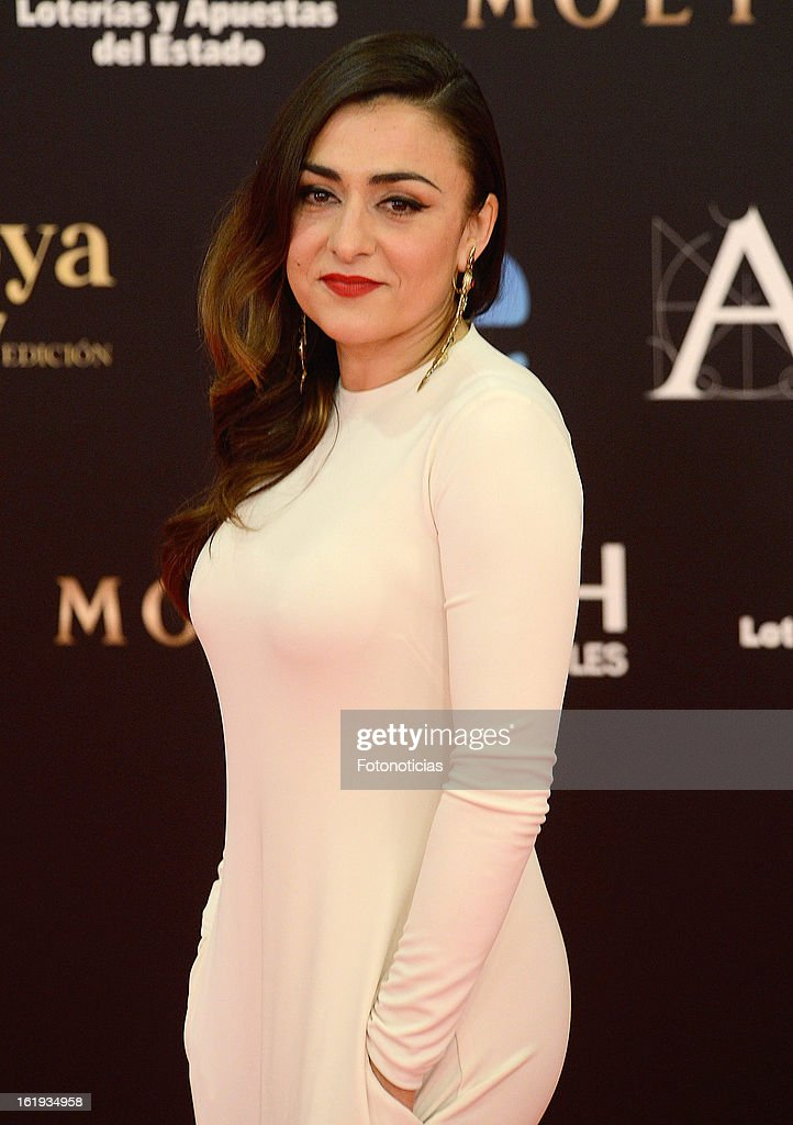 Candela Pena attends Goya Cinema Awards 2013 at Centro de Congresos Principe Felipe on February 17, 2013 in Madrid, Spain.