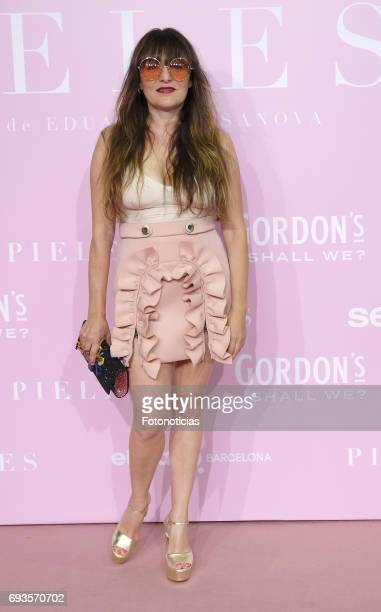 Candela Pena attends the 'Pieles' premiere pink carpet at Capitol cinema on June 7 2017 in Madrid Spain