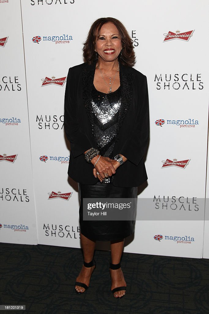 Candi Staton attends the 'Muscle Shoals' New York screening at Landmark Sunshine Cinemas on September 19, 2013 in New York City.