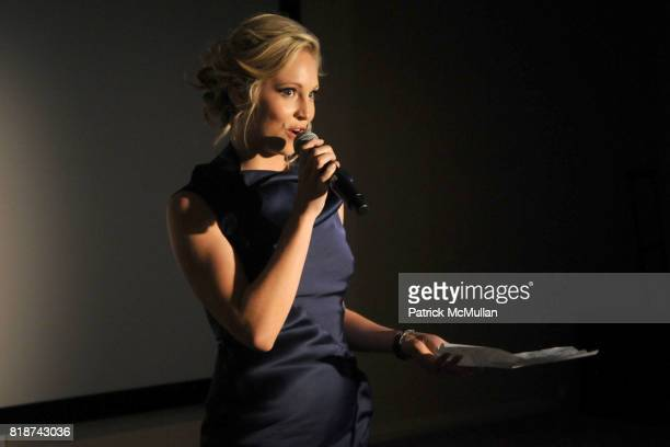 Candice Accola attend Frederique Constant's Passion Award at Cipriani Wall St on June 29 2010 in New York City