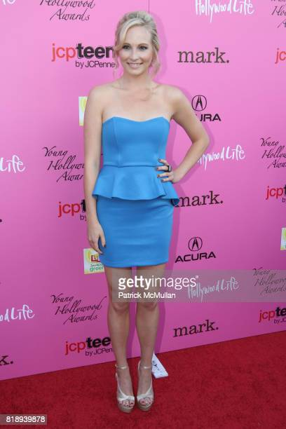 Candice Accola attends The 12th Annual Young Hollywood Awards at Ebell Theatre on May 13 2010 in Los Angeles CA