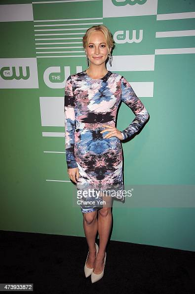 Candice Accola attends The CW Network's New York 2015 Upfront Presentation at The London Hotel on May 14 2015 in New York City