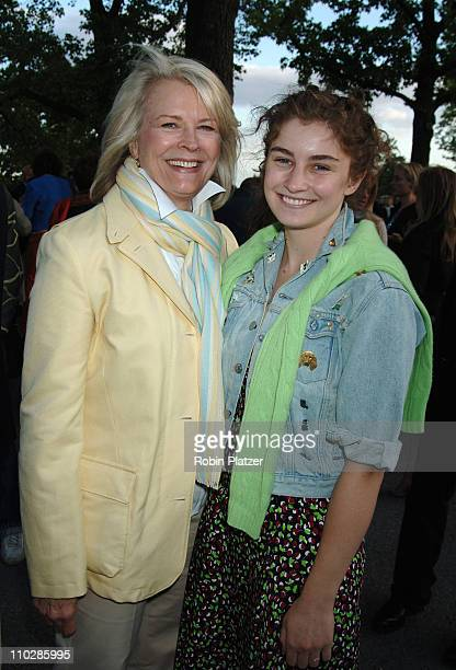 Candice Bergen and daughter Chloe Malle during Bette Midler's New York Restoration Project's 5th Annual Spring Picnic at Highbridge Park in New York...