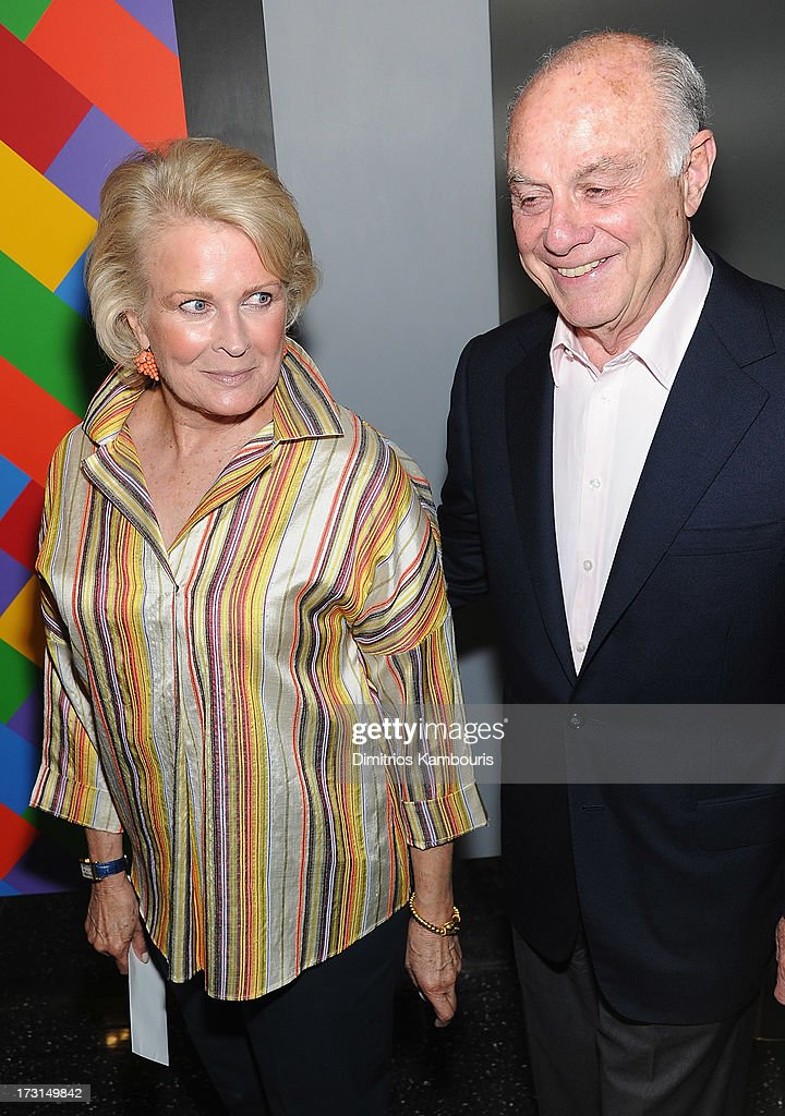 Candice Bergen and guest attend the 'Fruitvale Station' screening at the Museum of Modern Art on July 8 2013 in New York City