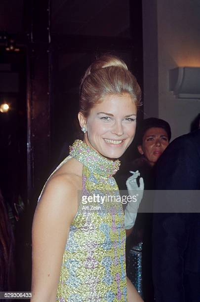 Candice Bergen at a formal event circa 1970 New York