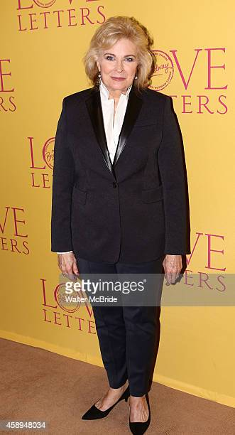 Candice Bergen attends the opening night celebration of 'Love Letters' at Brasserie 8 1/2 on November 13 2014 in New York City