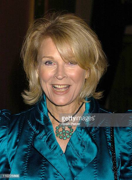 Candice Bergen during 11th Annual Living Landmarks Gala at The Plaza Hotel in New York City New York United States