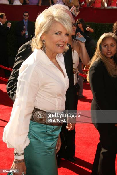 Candice Bergen during 58th Annual Primetime Emmy Awards Arrivals at Shrine Auditorium in Los Angeles California United States