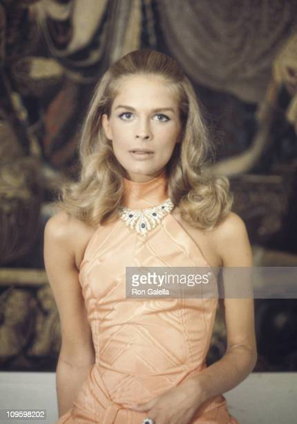 Candice Bergen during Film Set of 'The Adventurers' September 3 1968 in Rome Italy