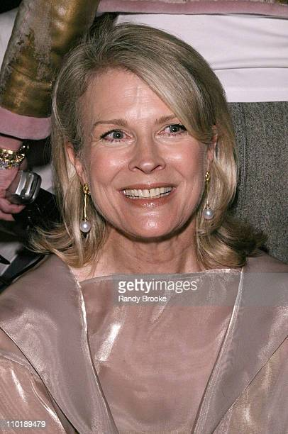 Candice Bergen during Isaac Mizrahi for Target Fall 2004 Front Row at Cipriani in New York City New York United States