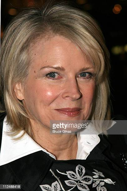 Candice Bergen during Monty Python's 'Spamalot' Opening Night on Broadway Arrivals at The Shubert Theater in New York City New York United States