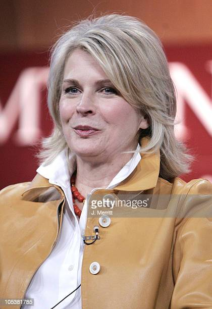 Candice Bergen during MTV TCA Day Presentation at Universal Hilton Hotel in Universal City California United States