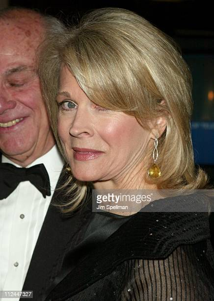 Candice Bergen during The Museum of Television Radio To Honor Tom Brokaw at Waldorf Astoria in New York City New York United States