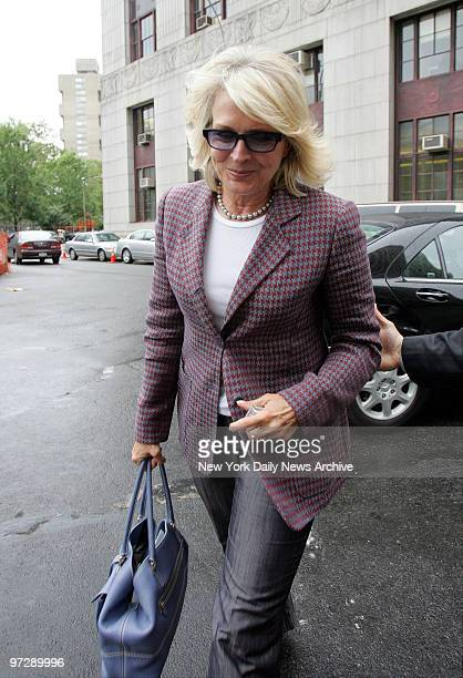 Candice Bergen is hustled into Manhattan Criminal Court through a service entrance at the 100 Centre St building The actress testified to a grand...
