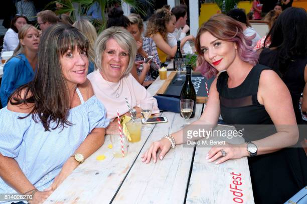 Candice Brown and guests pictured at the VIP launch of Just Eat Food Fest Desert Island Dishes in Red Market London The threeday desert...
