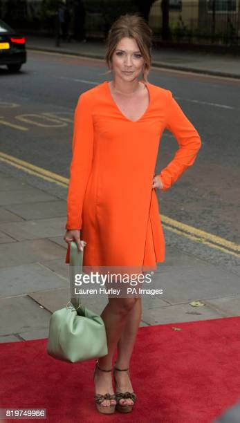 Candice Brown attending the opening night of Sadleracircs Wells summer tango spectacular Tanguera in London