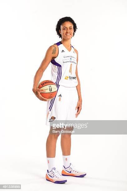 Candice Dupree of the Phoenix Mercury poses for a photo during the Phoenix Mercury Media Day on May 13 2014 at US Airways Center in Phoenix Arizona...