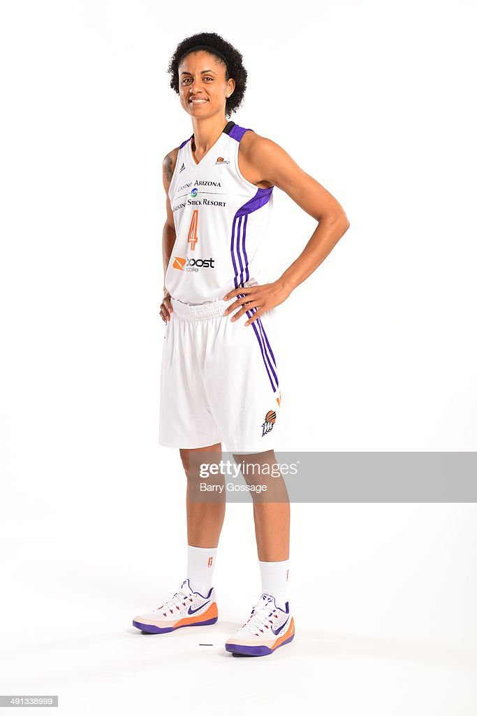 Candice Dupree #4 of the Phoenix Mercury poses for a photo during the Phoenix Mercury Media Day on May 13, 2014 at US Airways Center in Phoenix, Arizona.