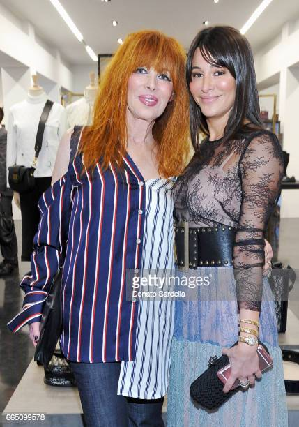 Candice Haas and Samantha Haas attend DIOR SS17 Collection Launch at Maxfield on April 5 2017 in Los Angeles California
