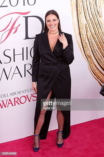 Candice Huffine attends the 2016 CFDA Fashion Awards at the Hammerstein Ballroom on June 6 2016 in New York City