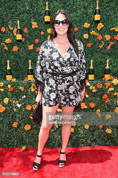 Candice Huffine attends the EighthAnnual Veuve Clicquot Polo Classic at Liberty State Park on May 30 2015 in Jersey City New Jersey