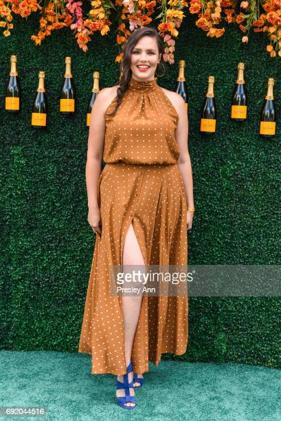 Candice Huffine attends The Tenth Annual Veuve Clicquot Polo Classic Arrivals at Liberty State Park on June 3 2017 in Jersey City New Jersey
