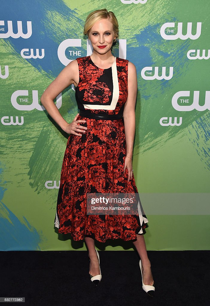 Candice King attends the CW Network's 2016 New York Upfront Presentation at The London Hotel on May 19 2016 in New York City