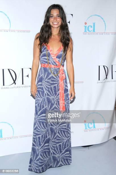 Candice Miller attends INSTITUTE FOR CIVIC LEADERSHIP 2010 Spring Benefit at DVF Studio on June 15 2010 in New York City