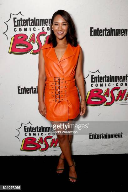 Candice Patton at Entertainment Weekly's annual ComicCon party in celebration of ComicCon 2017 at Float at Hard Rock Hotel San Diego on July 22 2017...