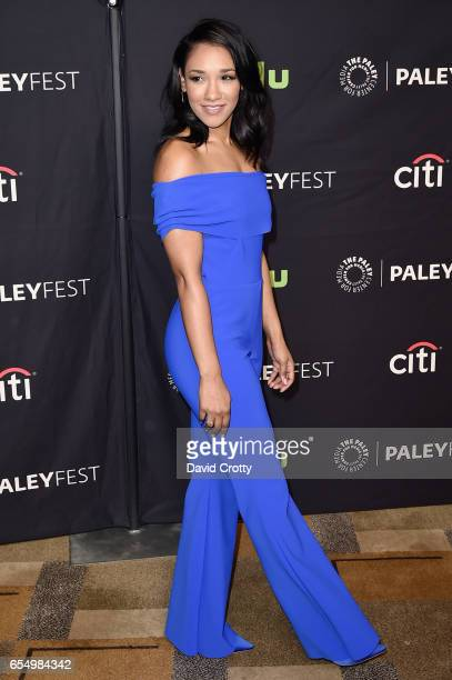Candice Patton attends PaleyFest Los Angeles 2017 CW's 'Heroes Aliens Featuring Arrow The Flash Supergirl and DC's Legends of Tomorrow' at Dolby...