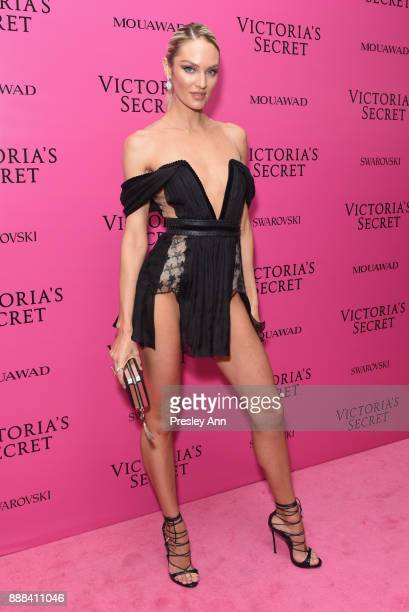 Candice Swanepoel attends 2017 Victoria's Secret Fashion Show In Shanghai After Party at MercedesBenz Arena on November 20 2017 in Shanghai China