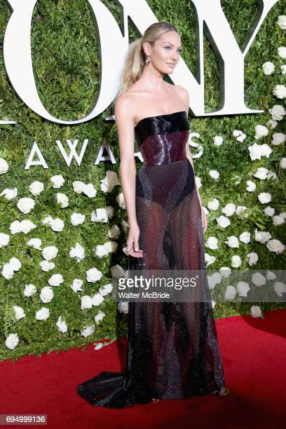 Candice Swanepoel attends the 71st Annual Tony Awards at Radio City Music Hall on June 11 2017 in New York City