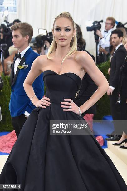 Candice Swanepoel attends the 'Rei Kawakubo/Comme des Garcons Art Of The InBetween' Costume Institute Gala at Metropolitan Museum of Art on May 1...