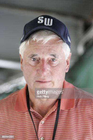 Candid portrait of Bobby Knight during the Little league World Series at Lamade Stadium in Williamsports Pennsylvania on August 25 2007