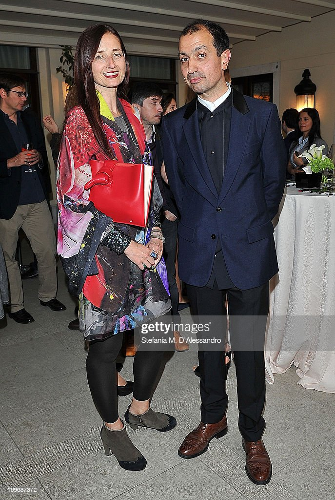 Candida Gertler and Darius Sanai attend the Venice Biennale 2013 Celebration with Baku Magazine, hosted by Leyla Aliyeva, Simon De Pury & Darius Sanai at The Westin Europa & Regina on May 29, 2013 in Venice, Italy.