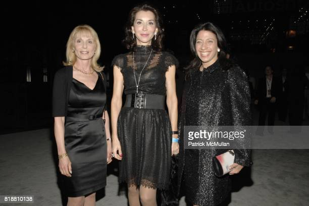 Candida Romanelli Fe Fendi and Lisa Anastos attend EAST SIDE HOUSE SETTLEMENT Gala Preview of the 2010 NEW YORK INTERNATIONAL AUTO SHOW at Javits...