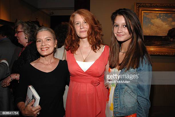 Candida Royalle Karen Finley and Violet Obern attend Book Party for 'Off The Record' by NORMAN PEARLSTINE at Arader Galleries on June 25 2007 in New...