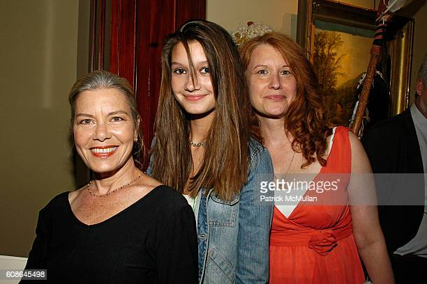 Candida Royalle Violet Obern and Karen Finley attend Book Party for 'Off The Record' by NORMAN PEARLSTINE at Arader Galleries on June 25 2007 in New...