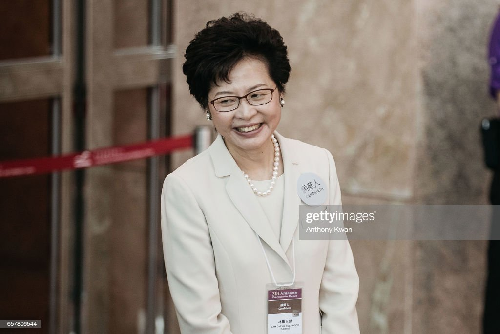 Hong Kong Elects Carrie Lam As Next Chief Executive