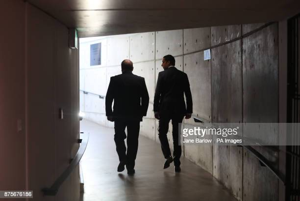 Candidate Glasgow MSP Anas Sarwar leaves the Glasgow Science Centre after being beaten in the Scottish Labour leadership contest by Richard Leonard