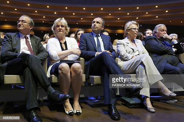 Candidates for the rightwing primaries ahead of the 2017 French presidential election Herve Mariton Nadine Morano JeanFrançois Cope French rightwing...