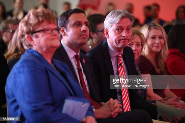 Candidates Glasgow MSP Anas Sarwar and Central Scotland MSP Richard Leonard at the Glasgow Science Centre before the announcement for the new leader...