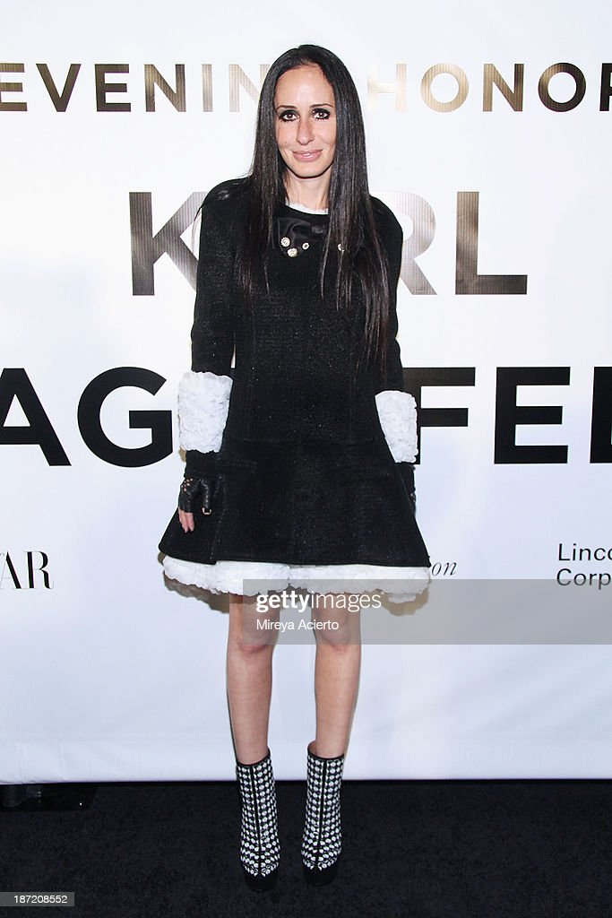 Candie Weitz attends An Evening Honoring Karl Lagerfeld at Alice Tully Hall on November 6, 2013 in New York City.