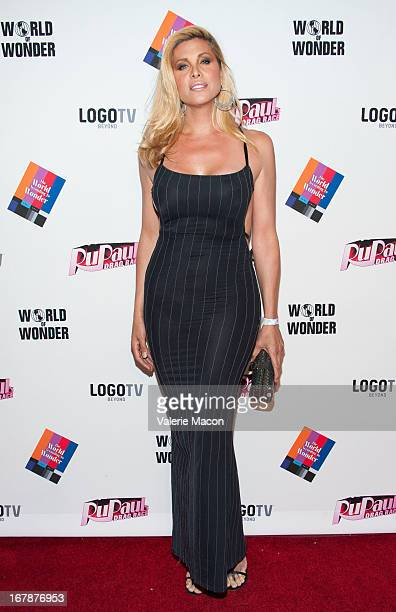 Candis Cane attends the Finale Reunion Coronation Taping Of Logo TV's 'RuPaul's Drag Race' Season 5 on May 1 2013 in North Hollywood California